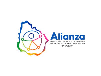 Logo Alianza de Organizaciones por los derechos de las personas con discapacidad en Uruguay
