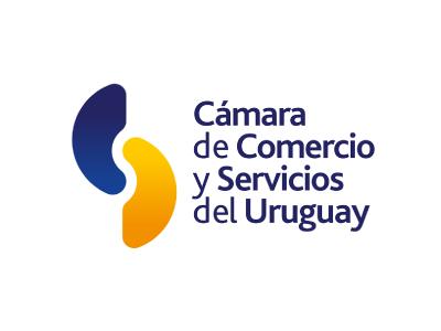 Logo Cámara de comercio y servicios del uruguay