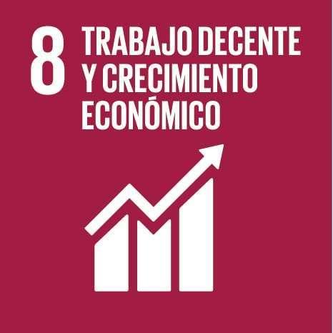 8: trabajo decente y crecimiento económico
